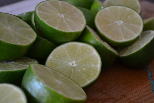limes mint limeade