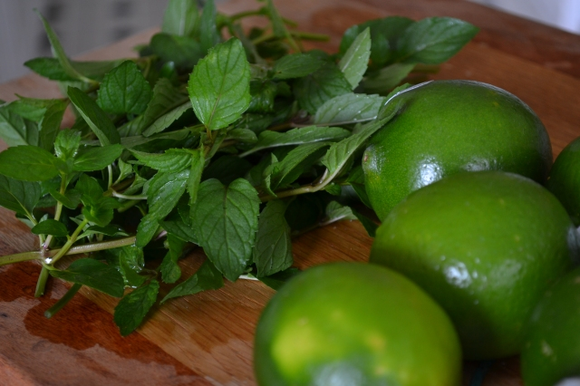 mint and limes mint limeade
