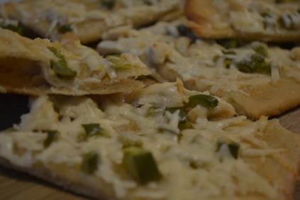 Healthy Kitchen Healthy Budget chicken flatbread