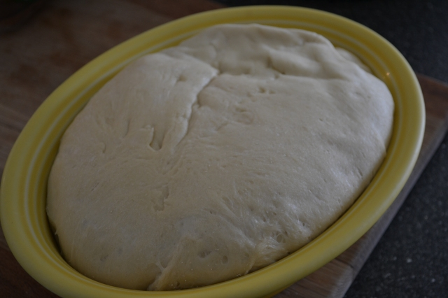 Healthy Kitchen Healthy Budget risen pizza dough